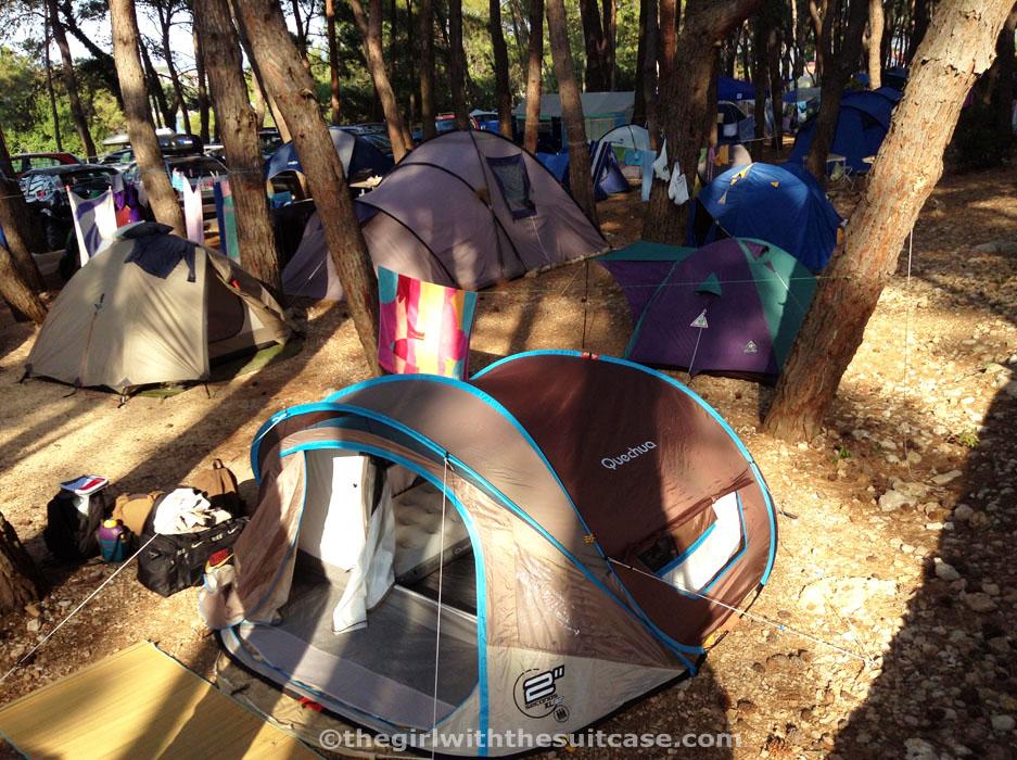 campeggio per tende
