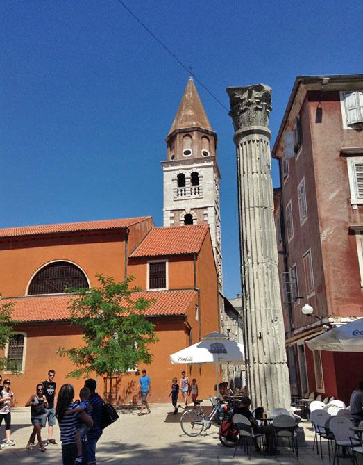 Zara, centro storico