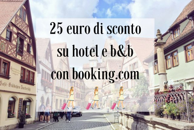sconto 25 euro Booking