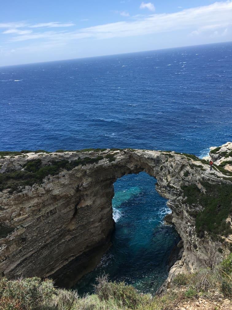 Arco naturale in Grecia