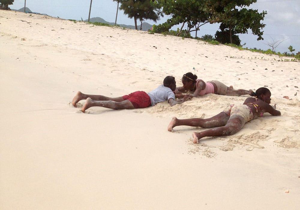 fare amicizia ai Caraibi