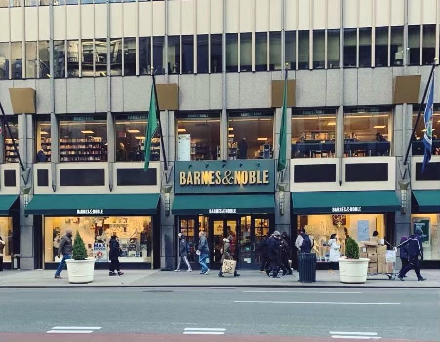 Barnes&noble, NY