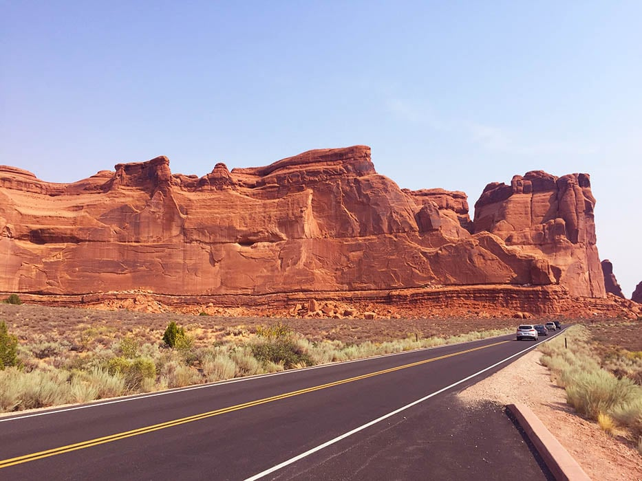 Arches National Park, scenic drive