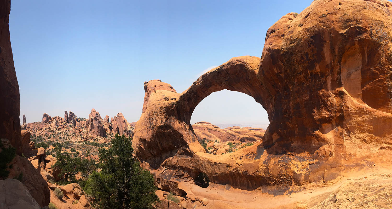 Double Arch, Arches National Park - Utah