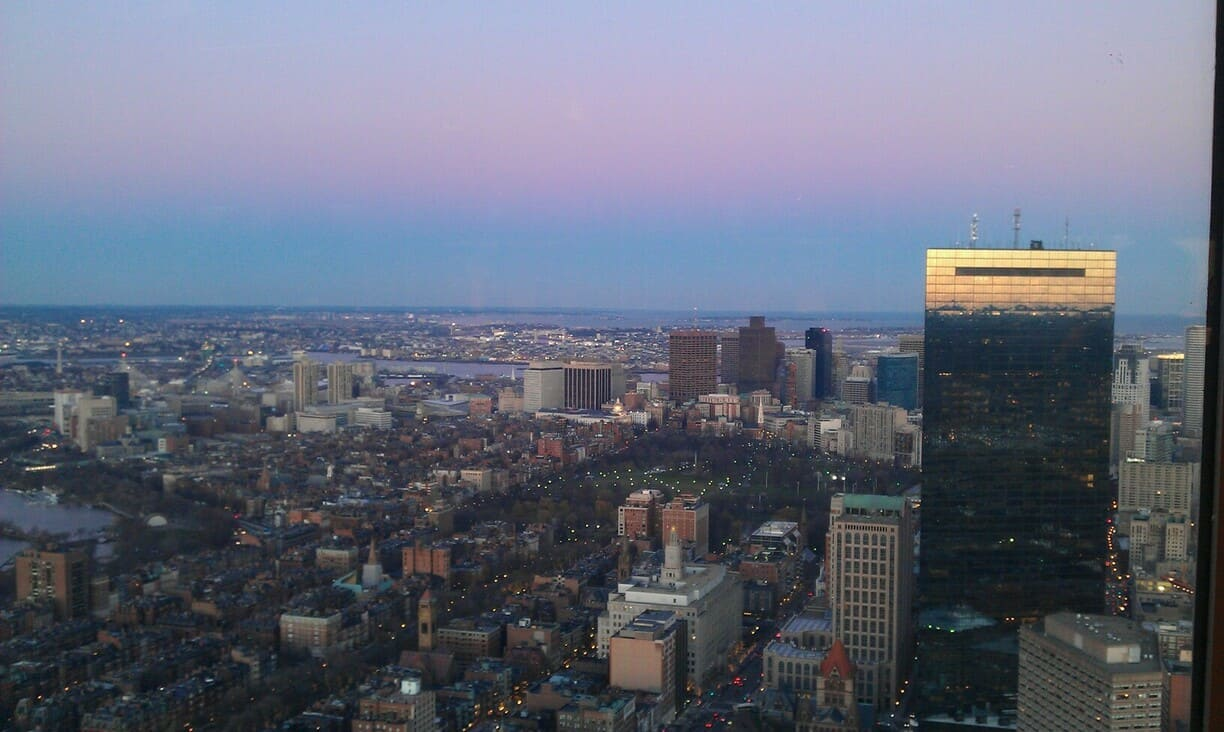 Boston, Prudential Center Skywalk