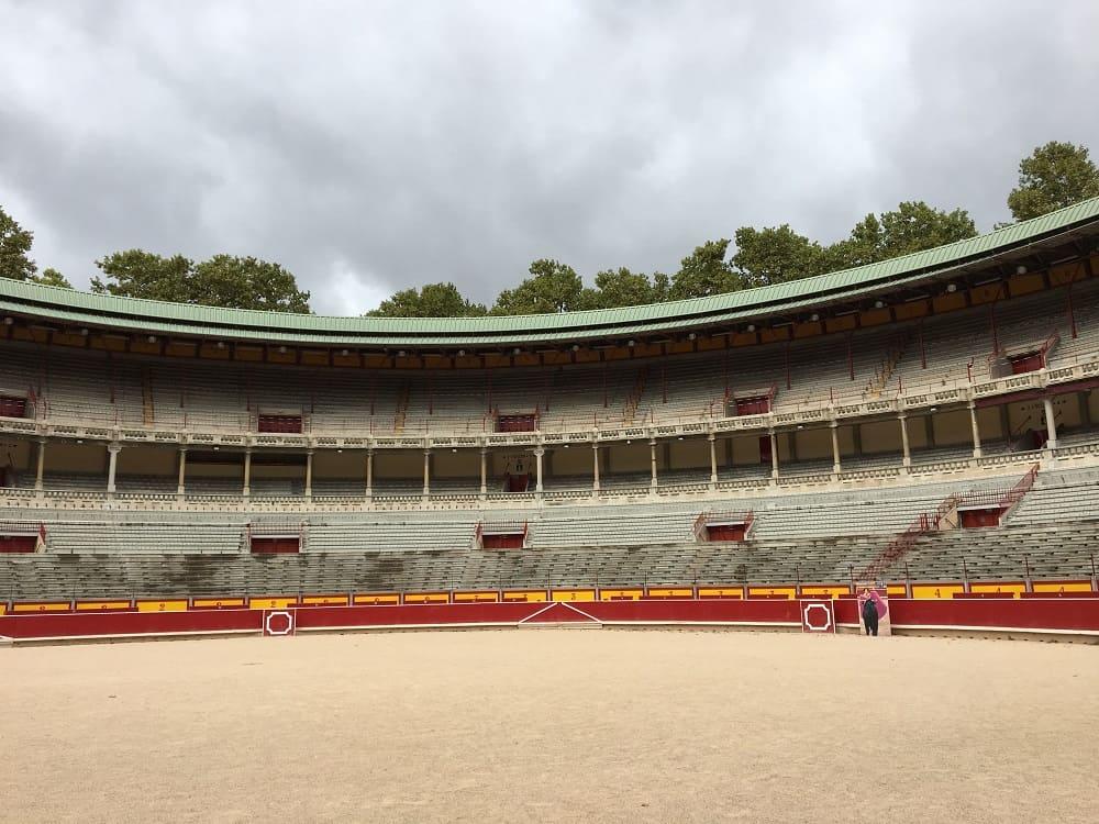 Arena de toros, Pamplona